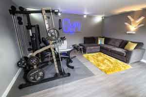 bespoke garden room gym